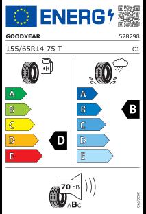 Goodyear Effigrip Compact 155/65 R14 75T