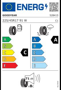 Goodyear Effigrip Performance 225/45 R17 91W