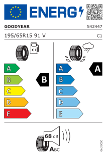 Goodyear Efficientgrip Performance 2 195/65 R15 91V