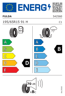 Fulda EcoControl HP 2 195/65 R15 91H