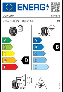 Dunlop Winter Sport 5 275/35 R19 100V XL