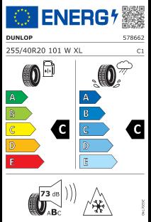 Dunlop Winter Sport 5 255/40 R20 101W XL
