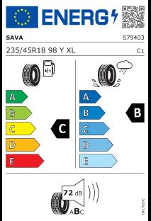 Sava Intensa UHP 2 235/45 R18 98Y XL