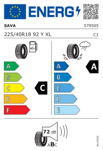Sava Intensa UHP 2 225/40 R18 92Y XL