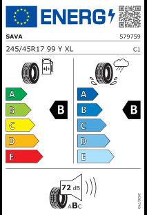 Sava Intensa UHP 2 245/45 R17 99Y XL