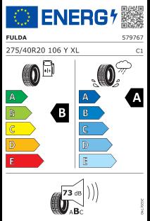 Fulda SportControl 2 275/40 R20 106Y XL